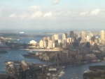 Sydney from the plane window