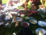 Picnic at the Botanical Gardens in Melbourne put together by one of my favourite Melbourne humans, Fang.